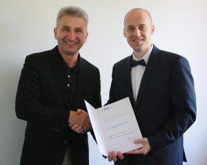 Prof Dr Remigiusz Smolinski_re_Prof Dr Andreas Pinkwart_li_Foto HHL